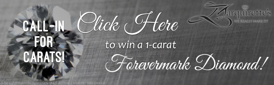 Register to win a 1-Carat Diamond from Marquirette's Exquisite Jewelry!